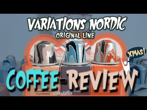 TEST: Variations Nordic 🎅 Nespresso X-mas Limited Editions 2019 🎅 Coffee Review ☕ ka5i