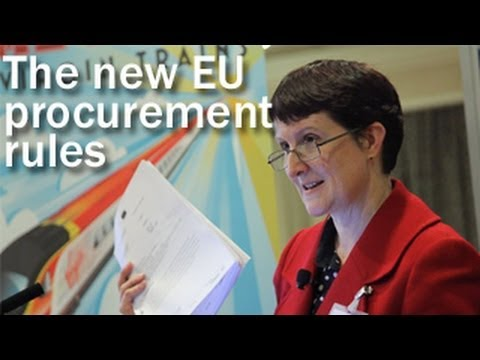 The new EU procurement regulations