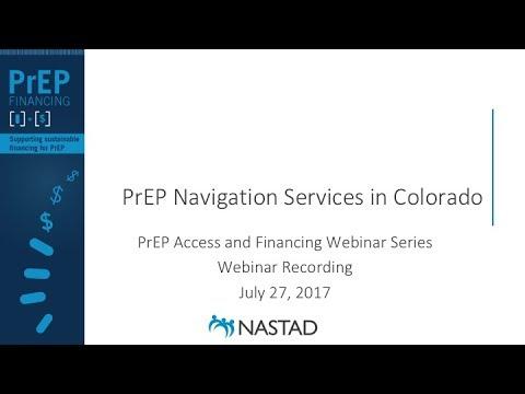 PrEP Navigation Services in Colorado (webinar)