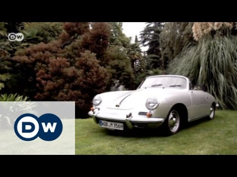Vintage Porsche 356 Super 90 Cabriolet