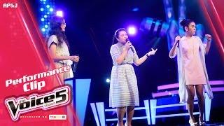 The Voice Thailand - ริเอะ VS ปลา VS แพรว - What Can I Do - 18 Dec 2016