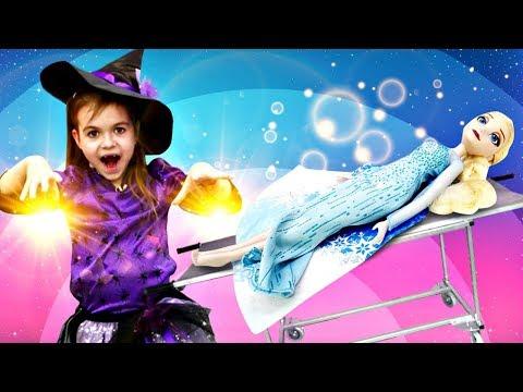 Холодное сердце: Эльза заболела и потеряла память! Игры для девочек