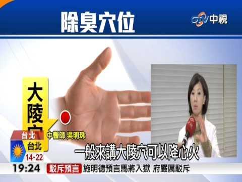 【中視新聞】簡單除口臭法 只要一個步驟! 20150103