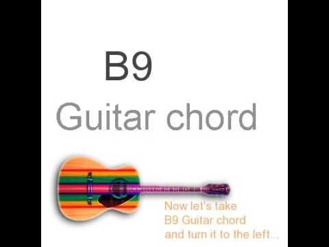 B9 Guitar Chords - YouTube