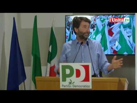Direzione Pd 30 maggio - Intervento di Dario Franceschini