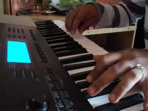 Devadoothan theme on keyboard