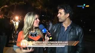 TV Fama: Marcos Pasquim admite uso de estimulante sexual