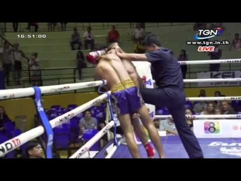 Professional Muay Thai Boxing from Lumphinee Stadium on 2014-11-22 at 4 pm