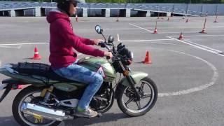 Экзамен на мотоцикле по новым правилам в Самаре(, 2016-09-05T15:23:00.000Z)