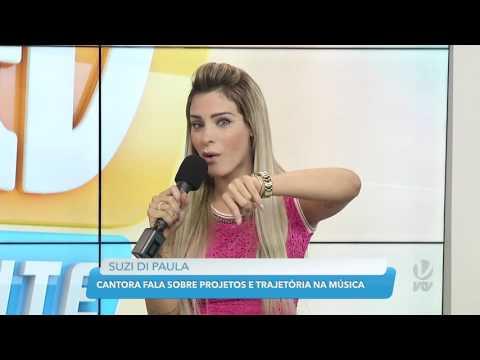 Entrevista com a cantora sertaneja Suzi di Paula no #VTVdaGente