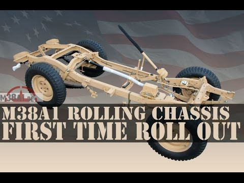 Restore your Willys | ROLLING CHASSIS roll out | M38A1