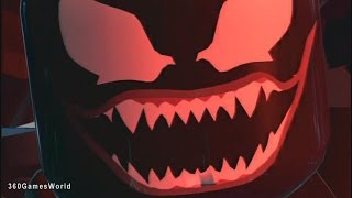 Lego Marvel Superheroes - VENOM BOSS FIGHT DUBSTEP WEAPON WALKTHROUGH GAMEPLAY HD