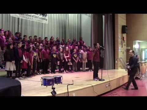 Kelly Clarkson's - Heartbeat Song by the SISCL's 5th Grade.