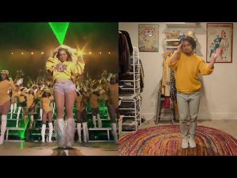 "Beyoncé Coachella ""Everybody Mad' Dance Break Cover"