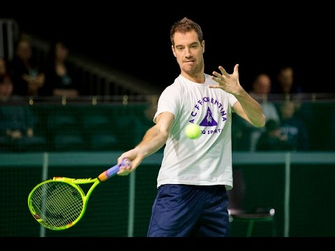 Injury forces Gasquet to withdraw from ABN AMRO World Tennis Tournament