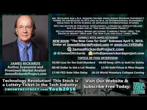 World Monetary Collapse Coming, Need Return to Gold Standard   Jim Rickards Interview