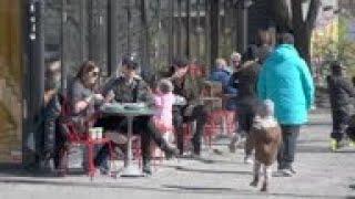 Swedes enjoy Easter weekend sun amid despite virus