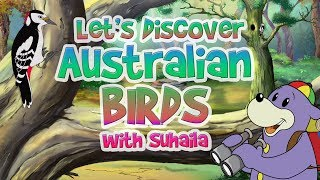 Zaky Discovers Australian Birds - Great For Kids