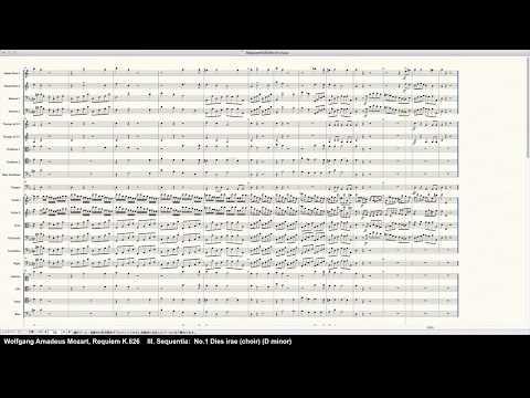 Mozart Requiem K.626(Choir Ahs/Oohs) - Programed in Finale 25 by pkmtKuma