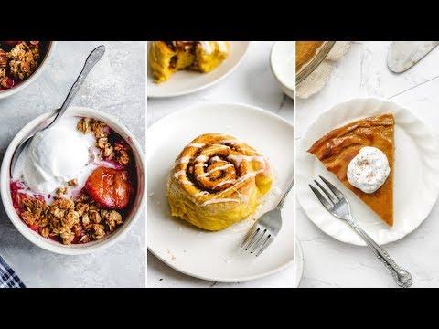 Easy Holiday Dessert Recipes ▸▹ Vegan + Gluten Free