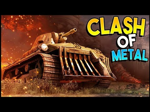 Crossout - THE CLASH OF METAL! (Crossout Gameplay)