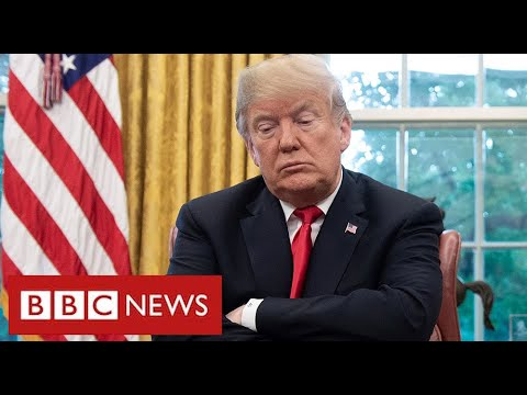 """Trump branded """"embarrassment to his country"""" as he shuns Biden inauguration - BBC News"""
