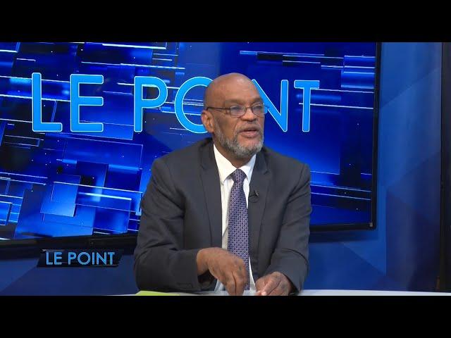 LE POINT 21/07/21 : Le Premier Ministre Ariel Henry