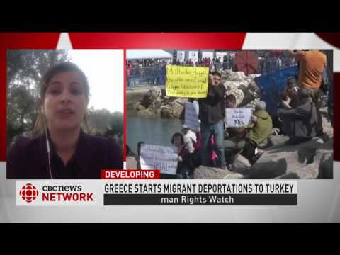Human Rights Watch concerned over EU plan, deporting migrants