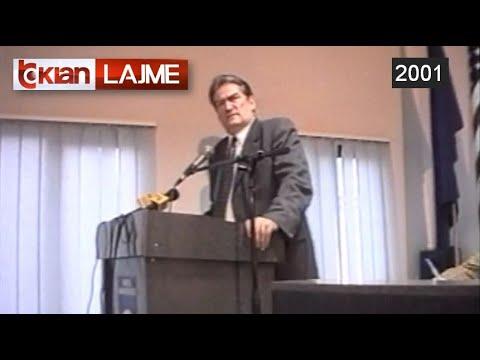 Kryetari i PD Berisha ne konferencen e EDU-se ne Berlin - (11 Janar 2001)