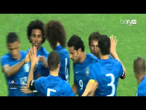 Astaga Brasil Vs South Africa 5-0 2014 All goals and highlights  (5-3-2014) HD  HD Version   Mantap