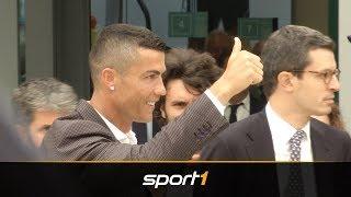 Turin steht Kopf! Cristiano Ronaldos erste Schritte bei Juventus | SPORT1