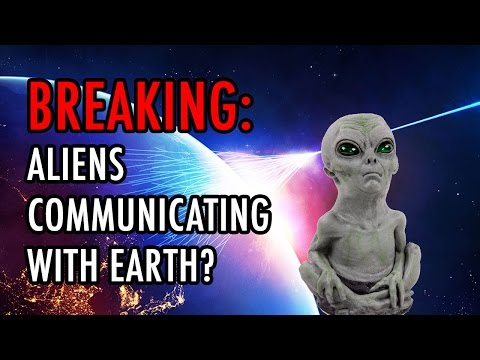 BREAKING: Alien ETs Communicate With Earth Using Cosmic Rays From Space?