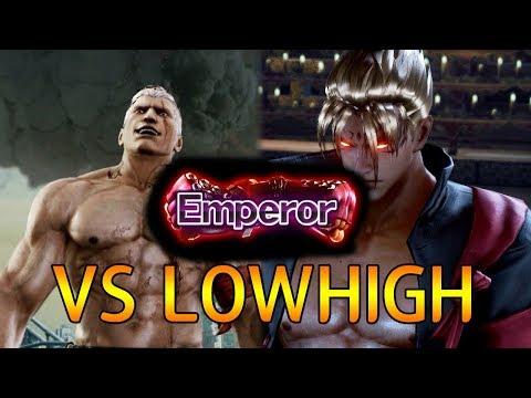 -Emperer Match- 로하이 (브라이언) vs 체리베리망고 (진) (TEKKEN 7 - LowHigh vs CherryBerryMango)