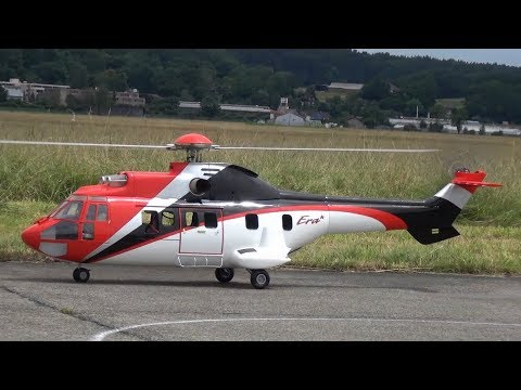 Huge RC Helicopter Eurocopter AS-532 Cougar ERA
