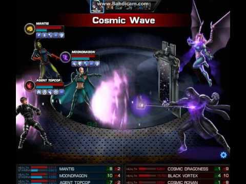 marvel avengers alliance moondragon simulat246r youtube