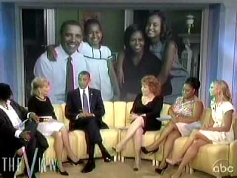 President Barack Obama on The View - Part 1