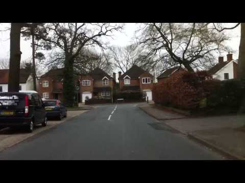 London streets (319.) - Staines - Ascot - Bracknell - Wokingham