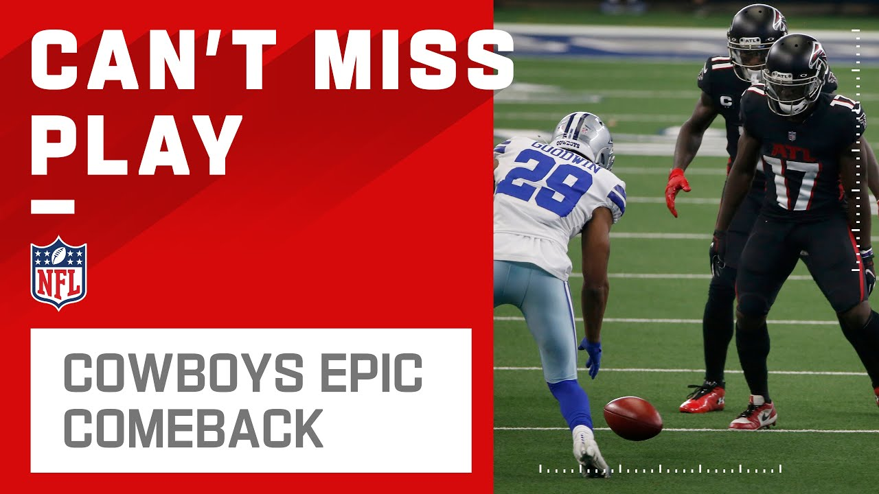 Cowboys Recover Onside Kick Cap Off Epic Comeback Youtube