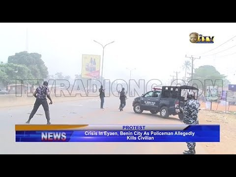 Crisis in Eyaen, Benin as policeman allegedly kills civilian