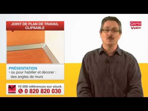 joint pour plan de travail clipsable par qama youtube. Black Bedroom Furniture Sets. Home Design Ideas