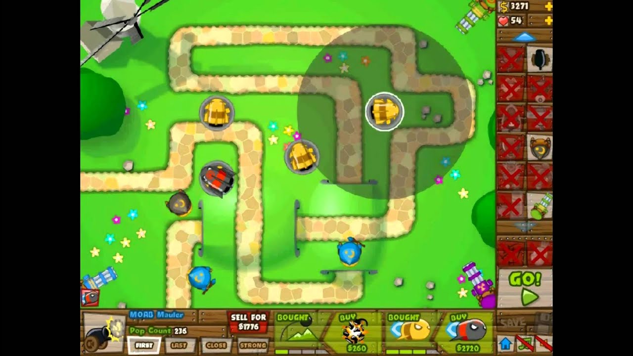 Black And Gold Games: Bloons Tower Defense 5 K