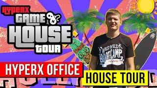 Александр S1mple Костылев показывает как выглядит офис HyperX - HyperX Gaming House Tours (ENG SUBS)