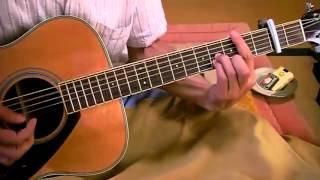 素人のギター弾き語り お別れしましょう 朝丘雪路 詞・なかにし礼、曲・...