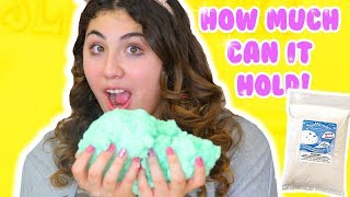 HOW MUCH CAN SLIME HOLD PART 4 | cream cloud fluff, paint, lotion | Slimeatory #181