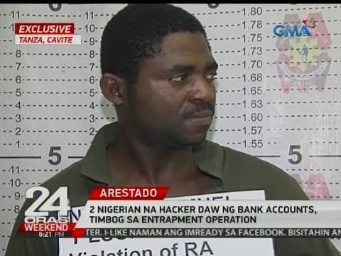 24 Oras: 2 Nigerian na hacker daw ng bank accounts, timbog sa entrapment operation
