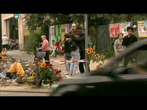 PORSCHE-SUV-UNFALL in Berlin: