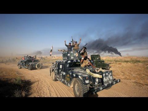 BATTLE OF FALLUJAH 2016 - IRAQI FORCES IN HEAVY COMBAT ACTION   IRAQ WAR