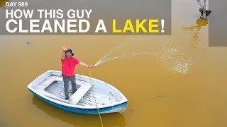 Download lagu How This Guy Cleaned a Lake!