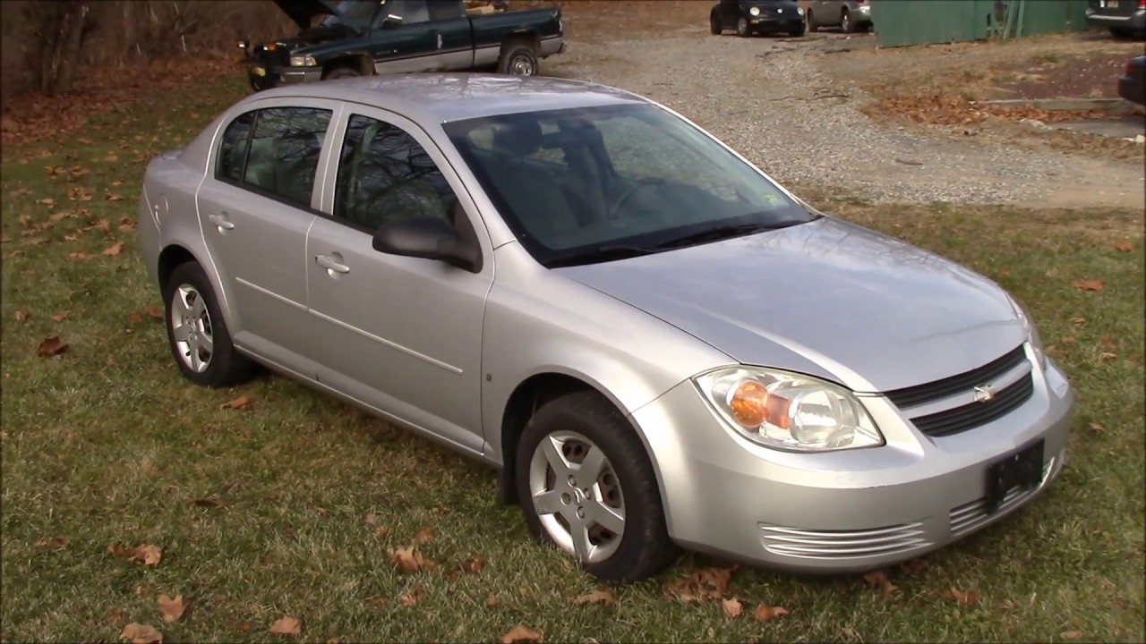 2007 Chevy Cobalt Ls Silver For Sale