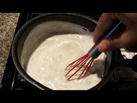 How to Make Coconut Syrup for Desserts